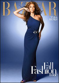 Harpers Bazaar  September 2008  Tyra Banks  Fall Fashion Issue