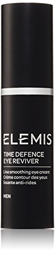 ELEMIS Time Defence Eye Reviver - Line Smoothing Eye Cream for Men, 0.5 fl. oz.