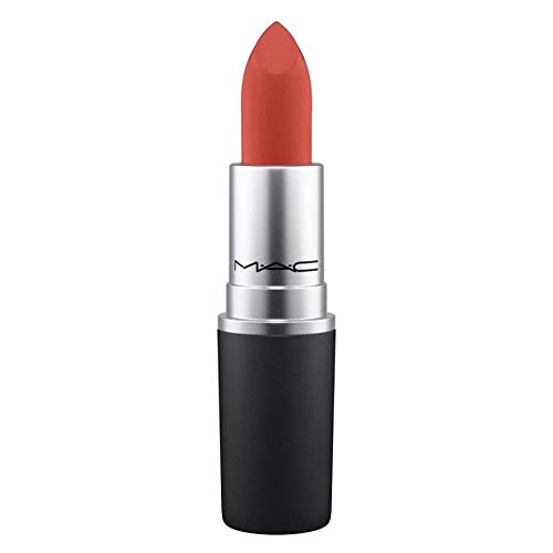- MAC Powder Kiss Lipstick # Devoted To Chili