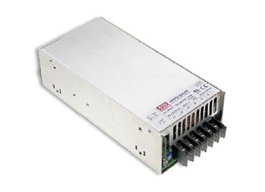 HRP-600-12 is an enclosed, single output, AC/DC power supply from Mean Well.