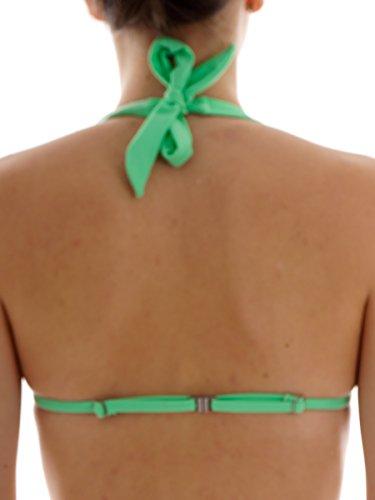 Brunotti Neckholder Bikinitop Bademode Oberteil Sabaglion grün Slider Gr. 38B