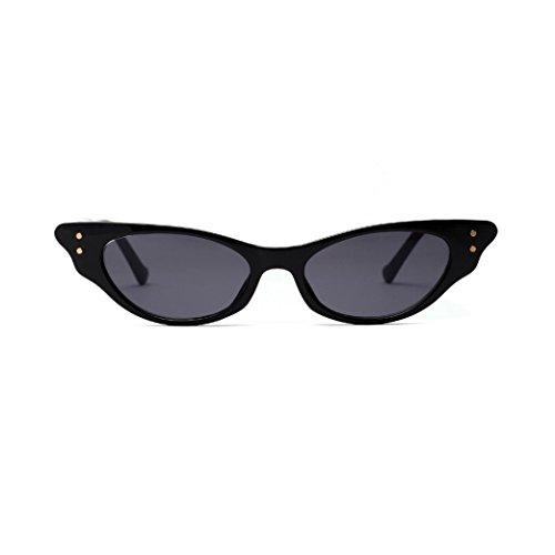 Pour Noir Hommes Lady Lunettes De Eyewear Neutre Unisexe Eye Cat Soleil Femmes Soleil Vintage Mode WTOqHH
