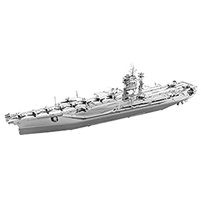 Metal Earth USS Roosevelt Aircraft Carrier
