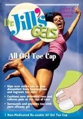 Dr. Jill's All Gel Toe Cap, Mini Size, -