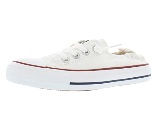 Converse Chuck Taylor All Star Shoreline White Lace-Up Sneaker - 8 B - Medium