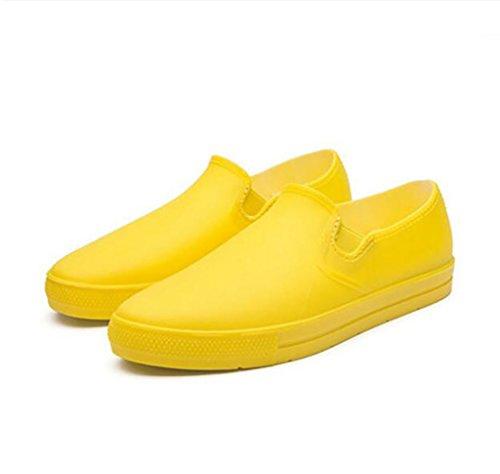 PWQU Waterproof Rain Boots, Casual Rain Boots, Urban Rain Boots, Non-Slip Rain Boots, Fashionable Low Boots, Rain Boots Anti-Slip rain Boots A