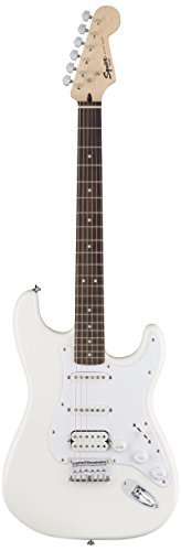 Squier by Fender Bullet Stratocaster Beginner Hard Tail Electric GuitarHSSArctic White [並行輸入品] B07BS1KF8N