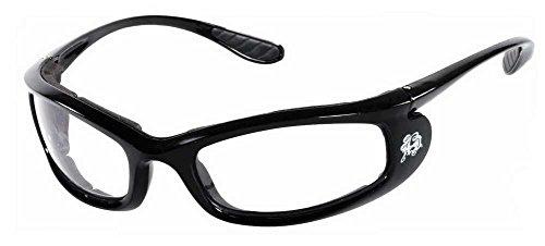 Harley-Davidson Womens Ladyrider Sunglasses, Black w/Clear Lens HDSZ 6700 BLK-22