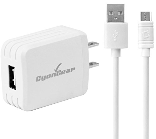 USB Type-C Charger Home Wall AC Data Cable White Compatible with LG Stylo 4