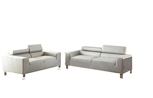 poundex-bobkona-ellis-bonded-leather-2-piece-sofa-and-loveseat-set-grey