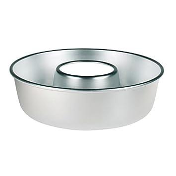 Pentole Agnelli Molde para bizcocho de aluminio con tubo, 22 cm: Amazon.es: Hogar