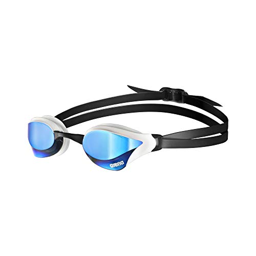Arena Cobra Core Mirror Swim Goggles Blue, White