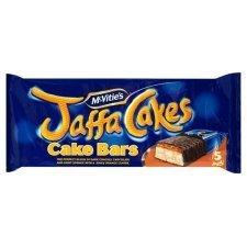 Mcvities Jaffa Cakes Cake Bars (5pk)x2 (Jaffa Cakes Christmas)