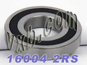 68mm OD 2990lbf Dynamic Load Capacity Metric Double Sealed WJB 16008-2RS Deep Groove Ball Bearing 9mm Width 2060lbf Static Load Capacity WJB 16000-2RS Series Deep Groove Ball Bearing 40mm ID