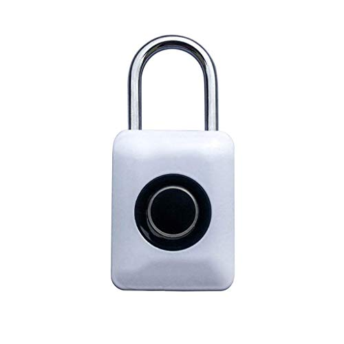 RMXMY Travel Locks Combination Luggage Locks Fingerprint Padlock, Suitable for House Door, Suitcase, Backpack, Gym, Bike, Office (Color : A) by RMXMY (Image #6)