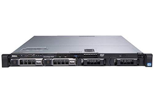 - DELL PowerEdge R320 1U RackMount 64-bit Server with 8-Core E5-2470 Xeon 2.3GHz CPU + 96GB PC3-10600R ECC RAM + 4×3TB 7.2K SATA LFF HDD, PERC RAID, 2×GigaBit NIC, 2×Power Supplies, iDRAC7, NO OS