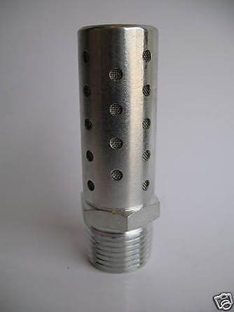 Pneumatic High Flow Stainless Steel Silencer 3//4 NPT by MettleAir