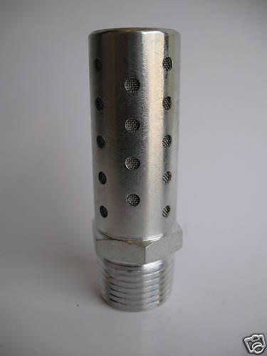 Pneumatic High Flow Stainless Steel Silencer 1//2 NPT by MettleAir