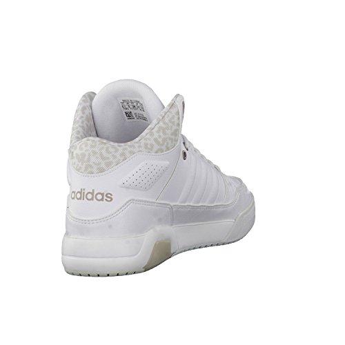 Adidas Play9Tis W, Scarpe da Ginnastica Donna, Bianco (Ftwbla/Ftwbla/Grmeva), 40 EU