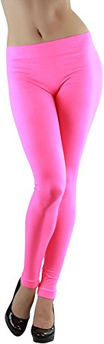 Women's Footless Nylon Spandex Elastic Legging - many colors