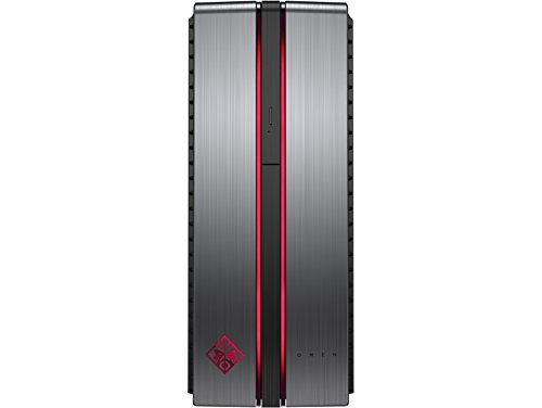HP OMEN Gaming VR Ready Desktop Intel Quad Core CPU 8GB DDR4 1TB HDD Nvidia GeForce GTX 1060 Capable for HTC Vive and Oculus Rift