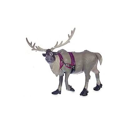 "Disney Frozen 3.5"" Reindeer Sven Loose PVC Figure Cake Topper Custom Figurine Toy: Toys & Games"