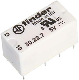 finder 30.22.7.005.0000 Printrelais 5 V//DC 1.25 A 2 Wechsler 1 St.
