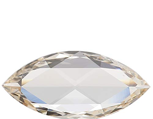Natural Loose Diamond Marquise I-J Color VVS1 Clarity 10.60 MM 0.64 Ct L6687 ()