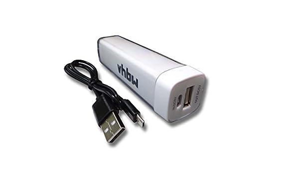 vhbw Powerbank, Cargador portátil, Cable de Carga Micro USB ...