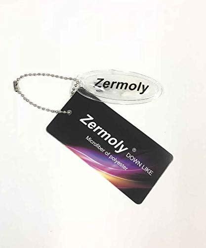 メンズ Zermory 高機能 ファイバー 中綿 ポリピーチ ボリュームネック 2WAY ブルゾン 細身 02-31-7321