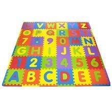 imaginarium alphabet numerals 36 foot foam puzzle mat