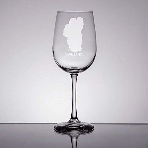 - Lake Tahoe Wine Glass Custom Etched Wine Glass Lake Tahoe Gift Engraved Wine Glass California Gift Lake Tahoe Wedding