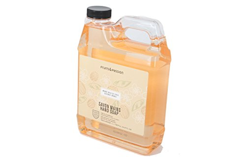 Purifying Hand Wash Refill - Fruits & Passion concentrated Purifying Hand Wash and Refill Hand Soap Refill (Coconut Monoi)