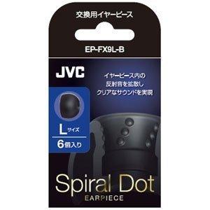 JVC Ear Pad EP-FX9L-B BK Black L size