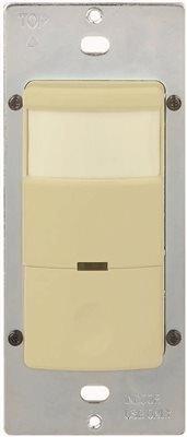 Preferred Industries 106784 Motion Sensor 120V 800W Lights Auto & Off & On Slide Ivory