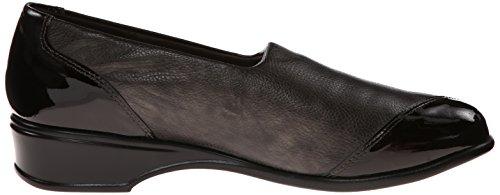 Munro-amerikaanse Dames Loafer Schoenen Maat 7.5 W Jesse Brons Bruin Leer Brons Metallic