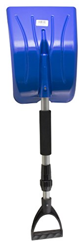 Mallory 222-E Telescopic Emergency Shovel with Foam Grip (Colors may vary)