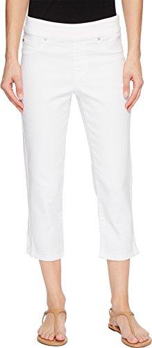 (Tribal Women's Pull On Capri W/Side Leg Detail Colors, White, 2)