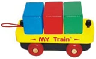 product image for Montgomery Schoolhouse Maple Landmark My Train - Block Car 70008