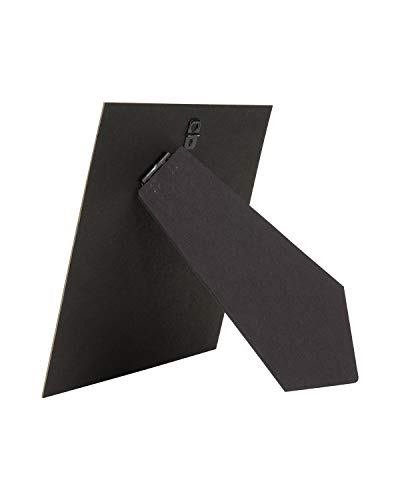 10 pack of 8in. x 8in. Cardboard Easel Back with Metal Hanger for Tile, Art, or Picture Frame