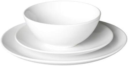 ikea fargrik service 18 pieces blanc