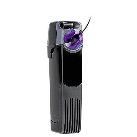 Unifilter UV Power 500 - Filtro interno para acuario, a 500 litros/hora, con esterilizador UV LED: Amazon.es: Hogar