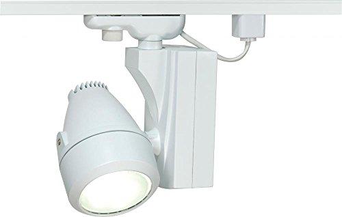 Nuvo Lighting TH385 One Light Track Head, White
