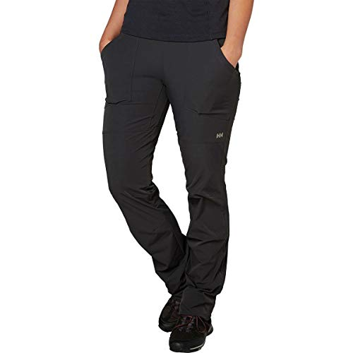 Helly Hansen Women's Hild Nylon Quick-DryStretch Pants, 981 Ebony, X-Small