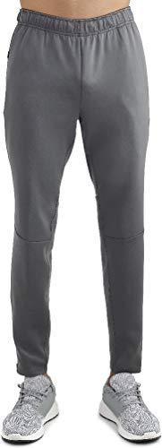 - Russell Men's Training Fit Slim Dri-Power Performance Pant (Dark Grey, Large)