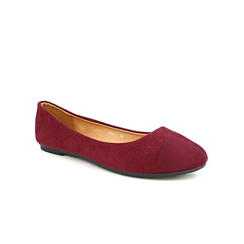 Ballerines CH CREATION Chaussures Cendriyon Bordeaux Femme wx60Y