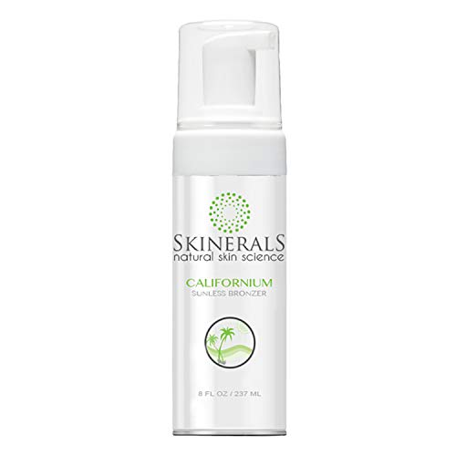 Skinerals Californium Sunless Bronzer with Organic and Natural Ingredients, 8 Oz Bottle from Skinerals