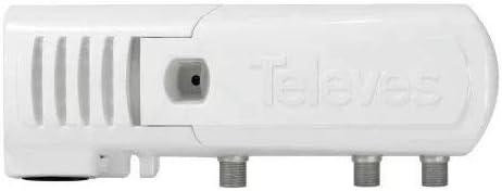 Televes NT24F Adaptador e inversor de Corriente Interior Blanco - Fuente de alimentación (Interior, 24 V, 0,13 A, Blanco)