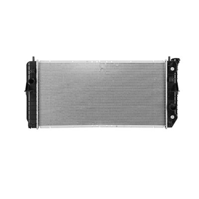 New Radiator For 2000-2005 Pontiac Bonneville And Buick Lesabre 3.8 Liter V6, Without Low Coolant Sensor, Plastic And Aluminum GM3010113