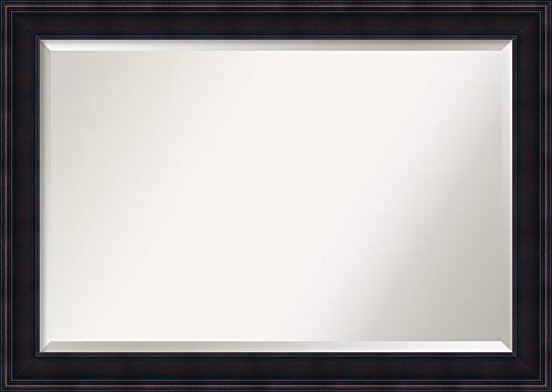 Amanti Art Framed Vanity Mirror | Bathroom Mirrors for Wall | Annatto -